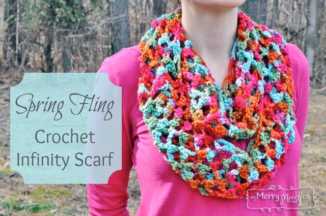 Spring and Summer Scarves to Crochet – free patterns – Grandmother\'s ...