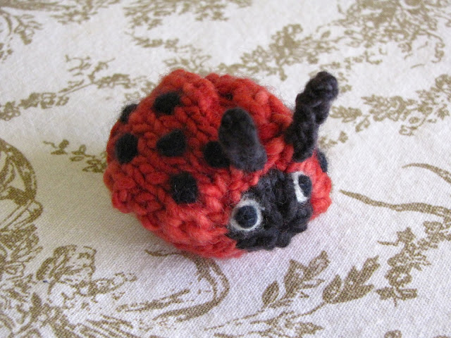 Ladybugs To Knit For Spring Free Patterns Grandmother