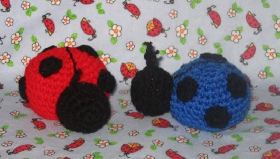 Ladybugs To Crochet Free Patterns Grandmother S