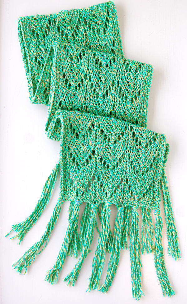 Spring And Summer Scarves To Knit Free Patterns Grandmother S Pattern Book