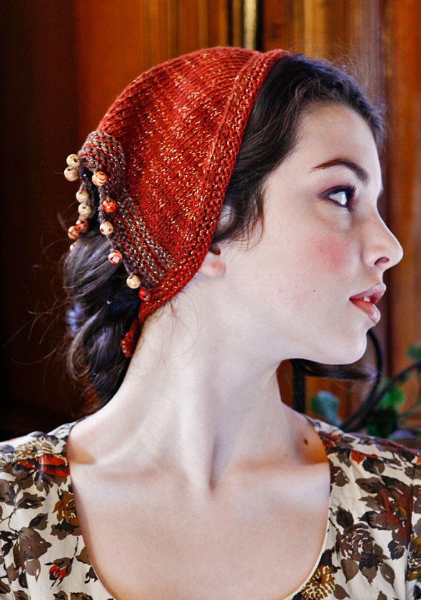 Knit snoods hairhead coverings free patterns grandmothers knit snood pattern free claudjalg dt1010fo