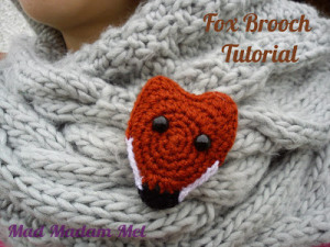fox brooch finished pimped