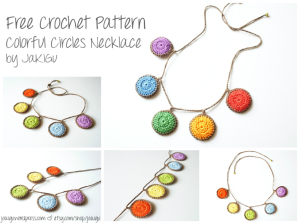 free-crochet-pattern-for-colorful-circles-necklace-by-jakigu