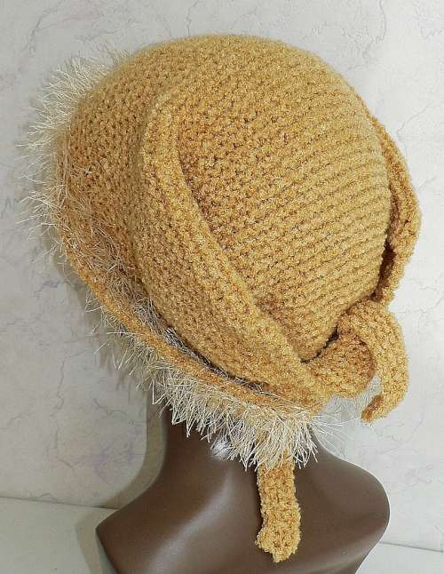 Knit Snoods, Hair/Head Coverings   free patterns   Grandmothers Pattern ...