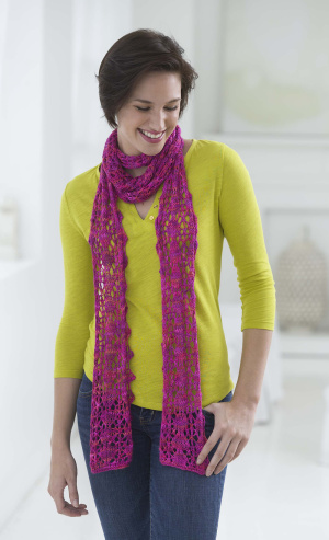 More Spring And Summer Scarves To Knit Free Patterns Grandmother S Pattern Book