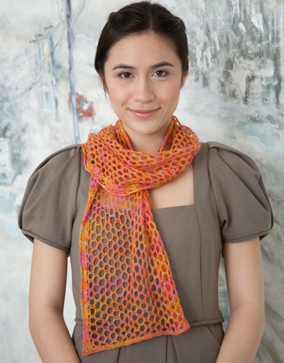 Knitting Pattern For Summer Scarf : Spring and Summer Scarves to Knit   free patterns   Grandmothers Pattern...