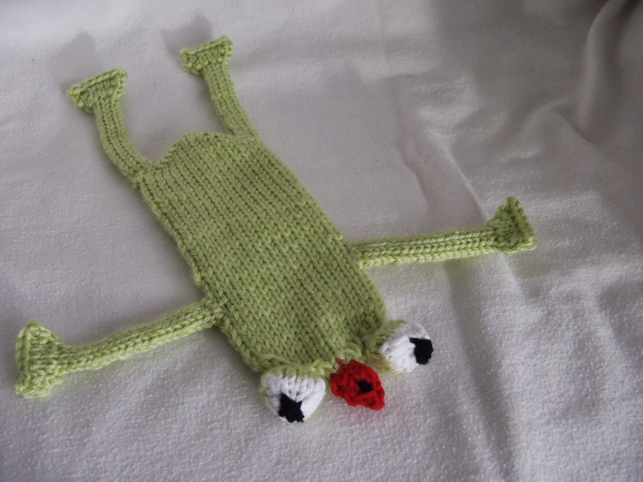Knit a frog - free patterns - Grandmother's Pattern Book