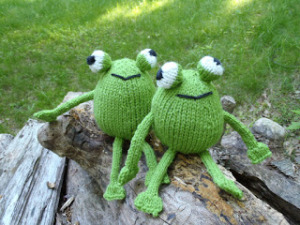 stanascrittersetc_chadwick and Igor, frog twins