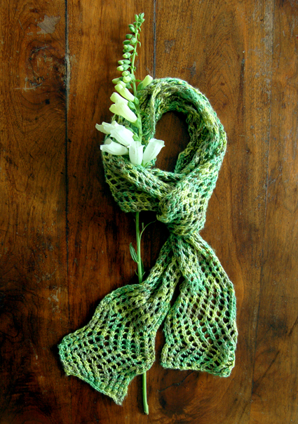 Knitting Summer Scarves : Spring and summer scarves to knit free patterns