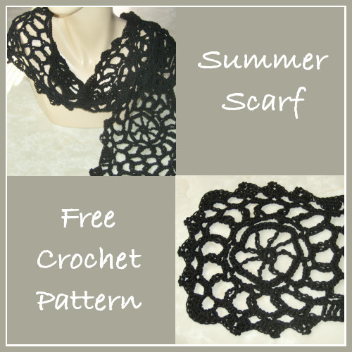 Spring And Summer Scarves To Crochet Free Patterns Grandmother S Pattern Book