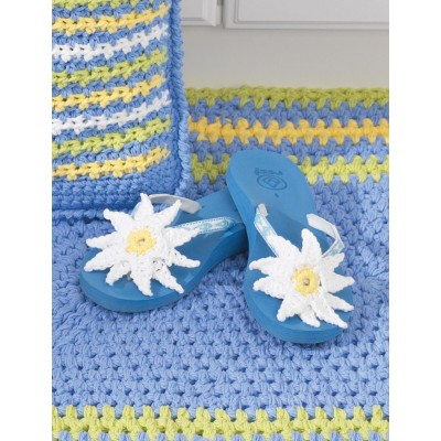 a7d62db18d2693 Flip Flops and Sandals to Crochet – free patterns – Grandmother s ...
