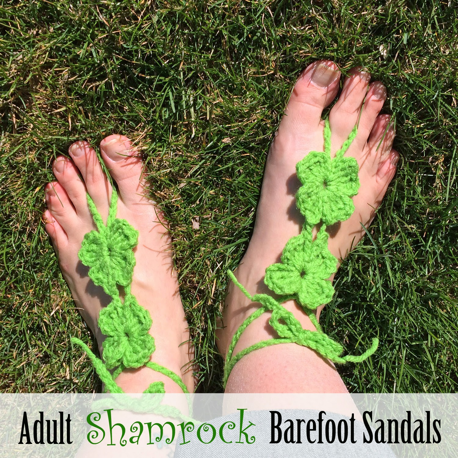 Barefoot Sandals and Foot Adornments to Crochet – free patterns ...