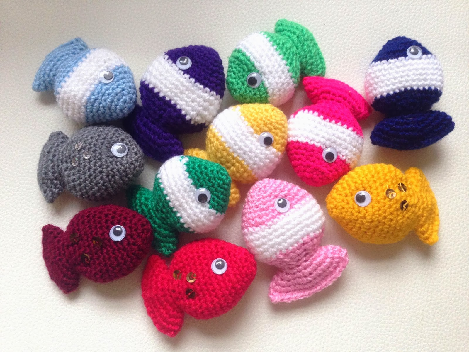 Crochet a Fish – free patterns – Grandmother\'s Pattern Book ...