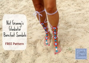 Not-Grannys-Gladiator-Barefoot-Sandals-by-Celina-Lane-Simply-Collectible-e1430143782279