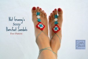 Not-Grannys-Sassy-Barefoot-Sandal-by-Celina-Lane-SimplyCollectibleCrochet.com-2-e1425272344819