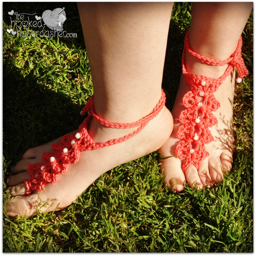 Barefoot Sandals and Foot Adornments to Crochet ? free ...