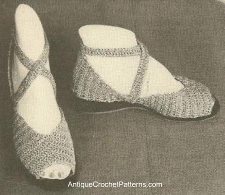 Flip Flops and Sandals to Crochet ? free patterns ...