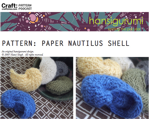 knitting sea shells  u2013 free patterns  u2013 grandmother u0026 39 s