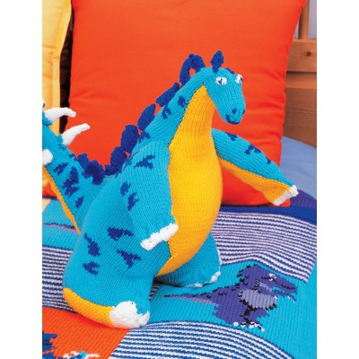 Free Dinosaur Knitting Pattern : Dinosaurs to Knit   21 free patterns   Grandmothers Pattern Book