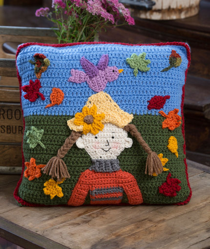 Fun! Kid's Pillows to Crochet from Red Heart Yarn – free ...