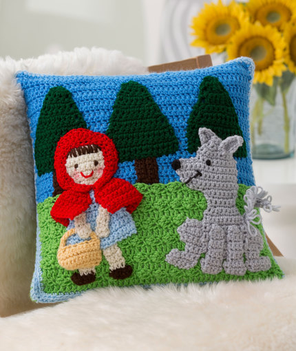 Fun Kid S Pillows To Crochet From Red Heart Yarn Free