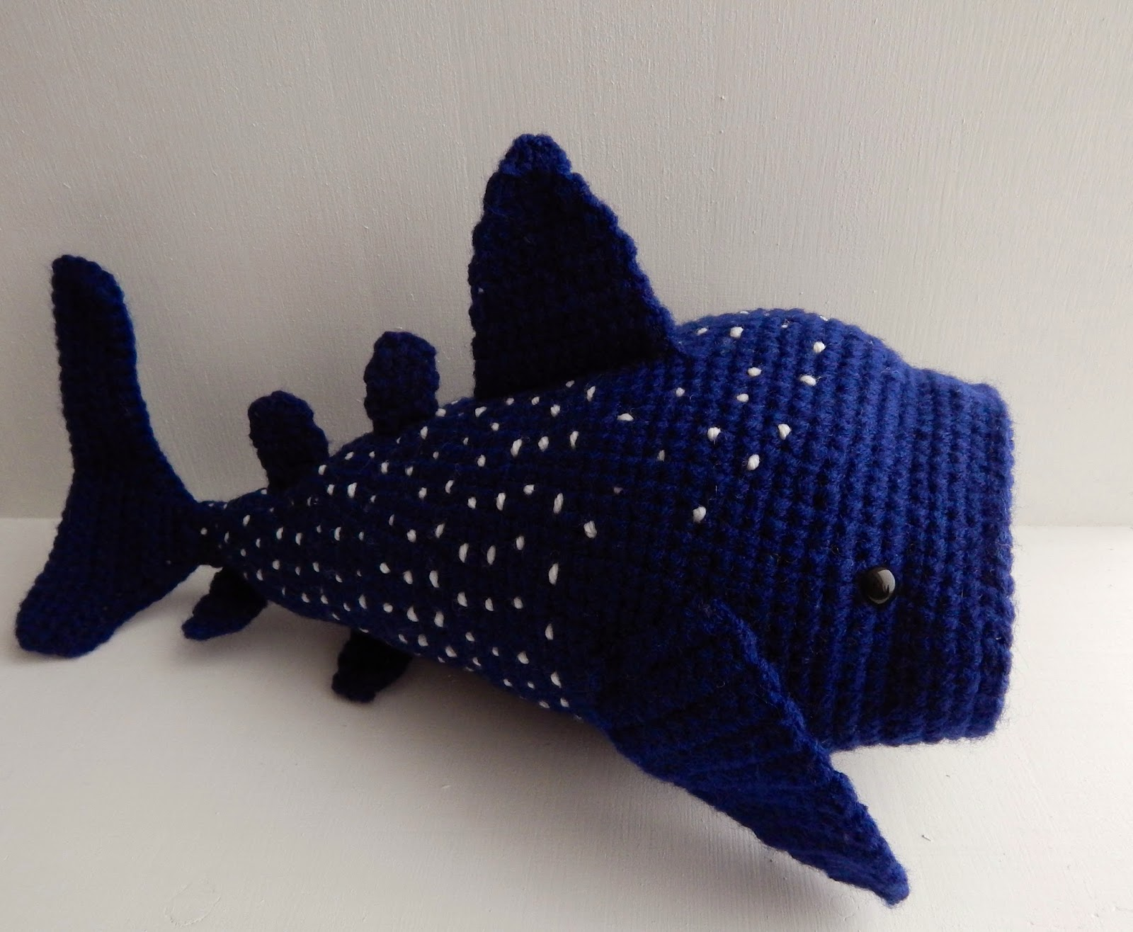 Amigurumi Shark Crochet Pattern : Sea Creatures to Crochet free patterns Grandmothers ...