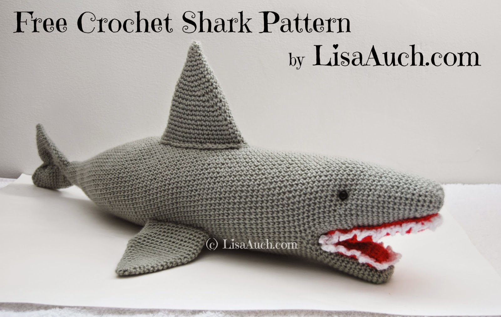 Free Pattern Crochet Shark Blanket : More Sea Creatures to Crochet ? free patterns ...