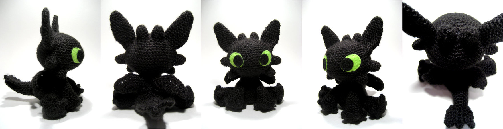 Amigurumi Dragon Wings Pattern : Dragons to Crochet free patterns Grandmothers Pattern ...