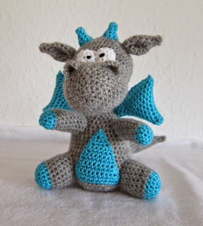 Easy Dragon Knitting Pattern : More Dragons to Crochet   free patterns   Grandmothers ...