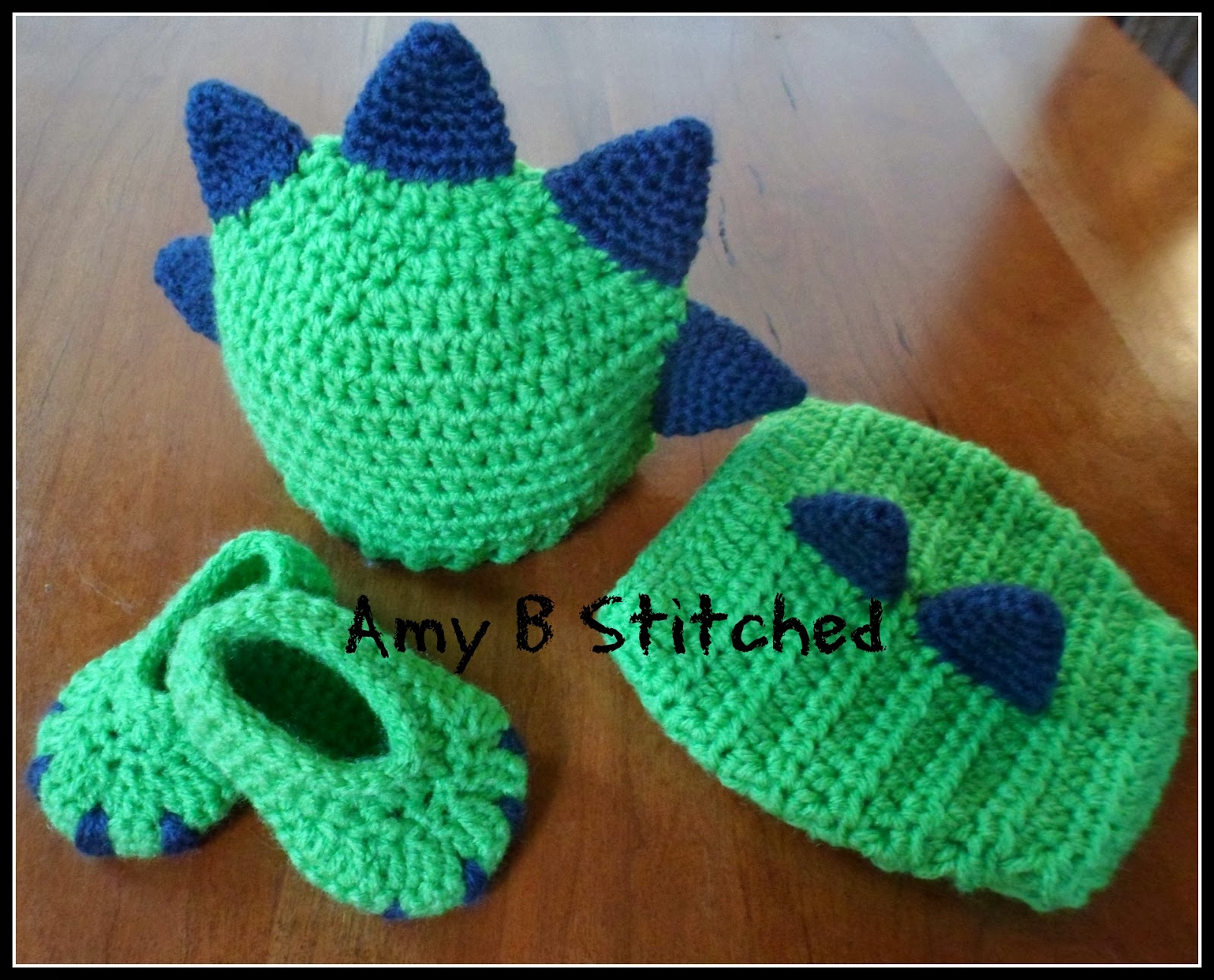 Crochet Pattern For Baby Dinosaur Hat : More Dinosaurs to Crochet ? free patterns ? Grandmothers ...