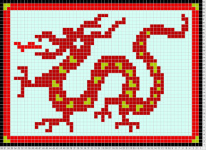 dragon_knitting_chart