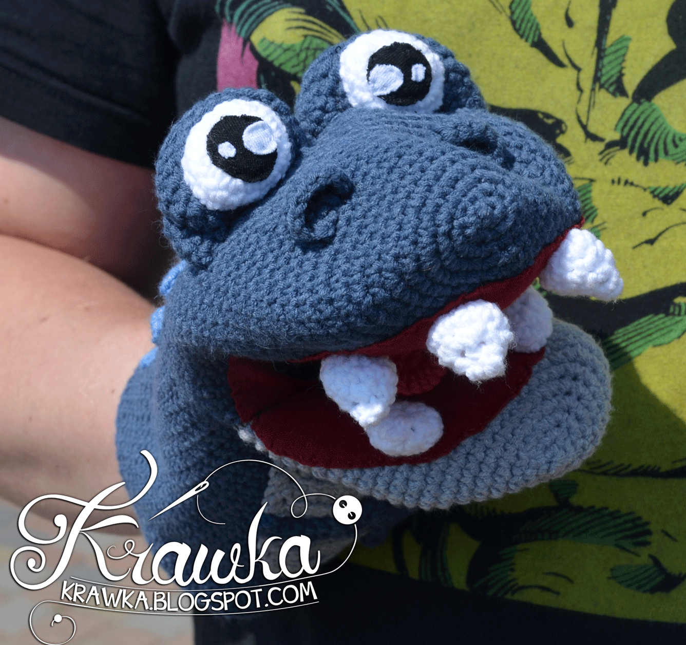 Crochet Dinosaur : More Dinosaurs to Crochet - free patterns - Grandmothers Pattern ...
