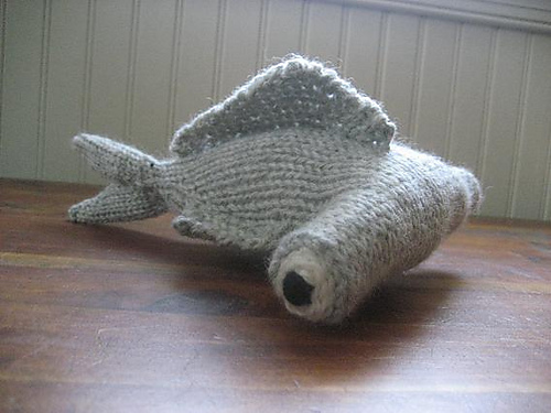 a few more sea creatures to knit � free patterns