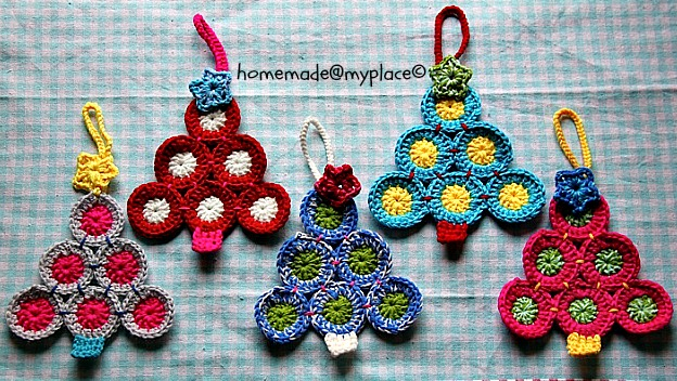 Crochet Christmas Tree Patterns Free