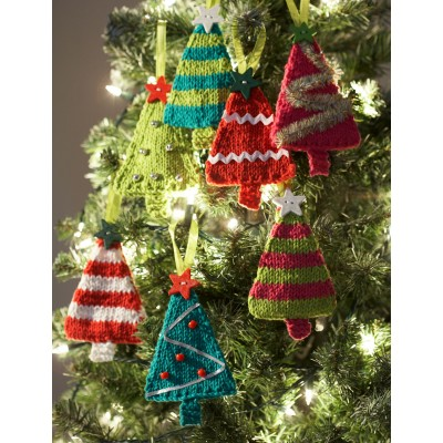 Free Knit Christmas Patterns : Christmas in July 2015   Christmas Tree / Pine Tree Knitting Patterns   free ...