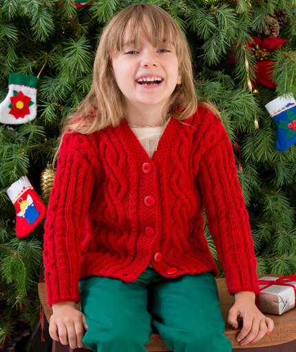 Free Child s Christmas Jumper Knitting Pattern : Christmas in July   Begin to Knit or Crochet your Christmas Sweater now   fre...