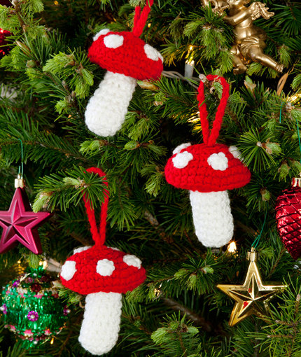 christmas with a woodland theme  u2013 free patterns to knit