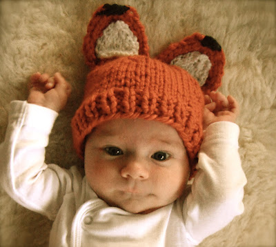 Free Knitting Pattern Baby Animal Hat : More Free Knitting Patterns for Your Woodland Theme ...