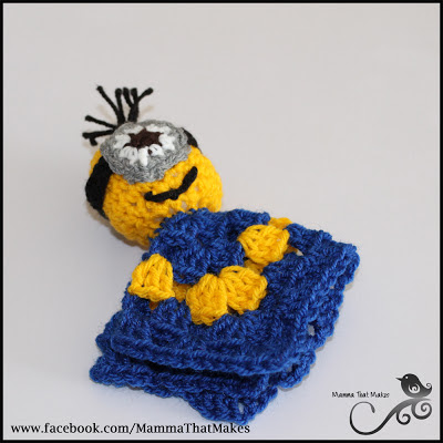 Minions free patterns to crochet grandmothers pattern book 3 key ring size minion dt1010fo