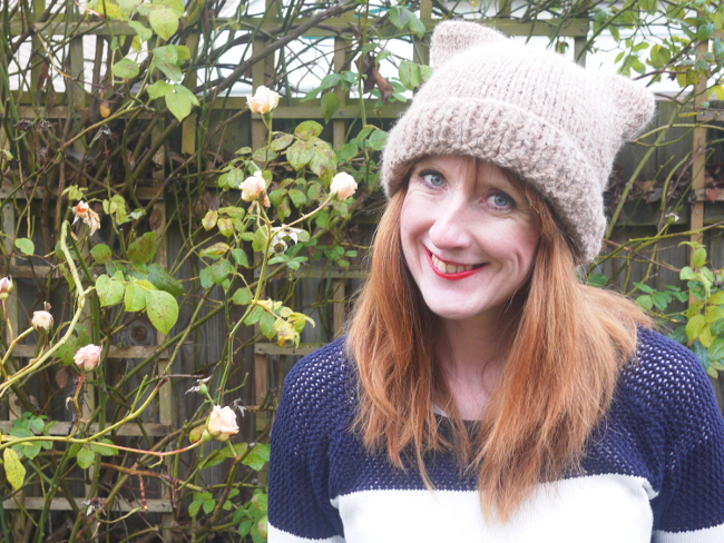 Cat Hats for People! free patterns to knit   Grandmothers Pattern Book