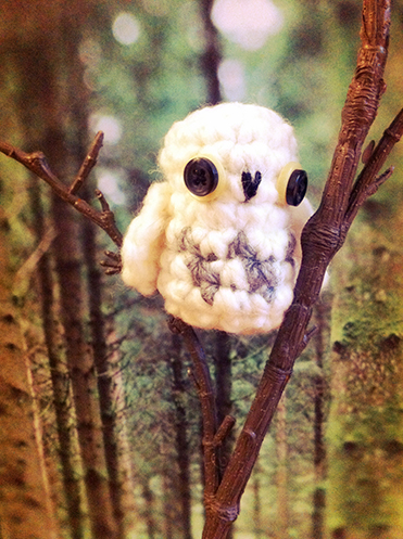few more crochet patterns for your woodland christmas ...
