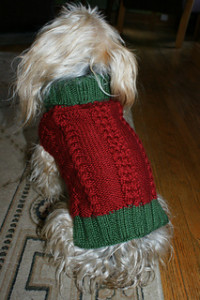 Knit a Christmas Sweater, Hat, Collar or Scarf for Your Dog (or Cat!)   free ...