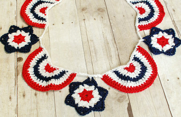 A Few More Garlands and Banners to Crochet ? free patterns ...