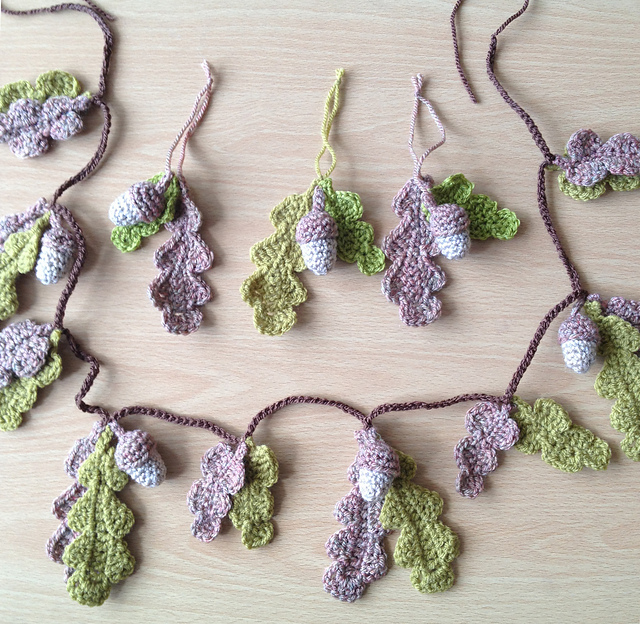 Free Crochet Pattern For Star Garland : More Garlands, Banners and Buntings to Crochet ? free ...