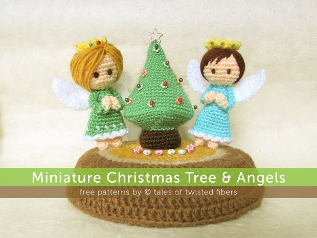 Christmas in July – Christmas Trees / Pine Trees to Crochet – free patterns