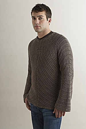 Crochet Men's Cardigans Pullovers And Vests Perfect For Fall 40 Beauteous Mens Crochet Sweater Pattern