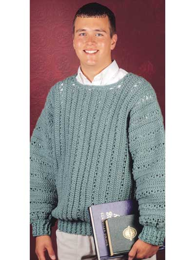 Crochet Patterns For Men s Sweaters : Crochet Men s Cardigans, Pullovers and Vests ? Perfect for ...