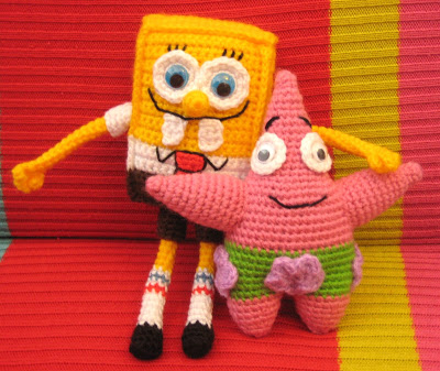 Amigurumi Patrick Star : Reader Request The Sponge Named Bob free patterns to ...