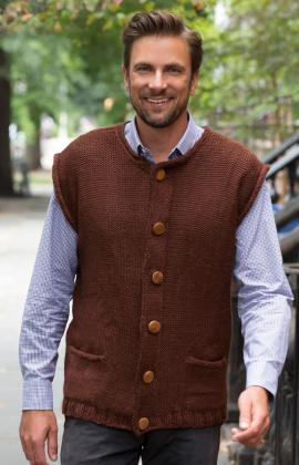More Fall Cardigans And Vests To Knit For Men 31 Free