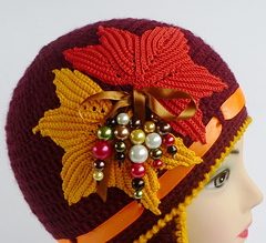 Autumn Leaves and Leaf Designs to Crochet – 59 free patterns